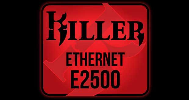 Contrôleur Gigabit Ethernet Killer E2500