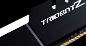 Kit G.Skill Trident Z 32 Go (4x 8 Go) DDR4 3200 MHz CL14