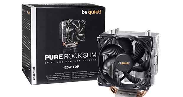 Ventirad Pure Rock Slim de Be Quiet!