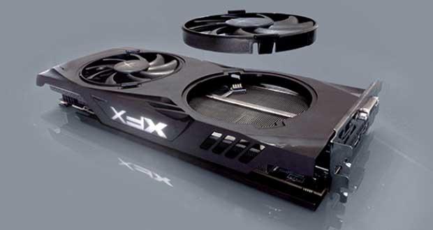 Cartes graphiques XFX Radeon RX 480 GTR & RS