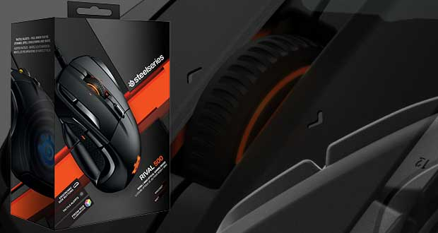 Souris gaming Steelseries Rival 500