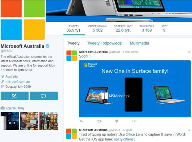 Smartphone Surface, Microsoft craque sur Twitter ?