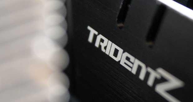 kit DDR4 Trident Z F4-3200C14Q-32GTZKW de G.Skill
