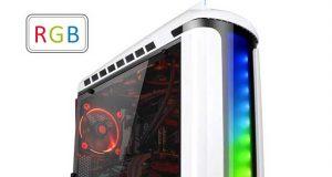 Boitier Thermaltake Versa C22 RGB Snow Edition