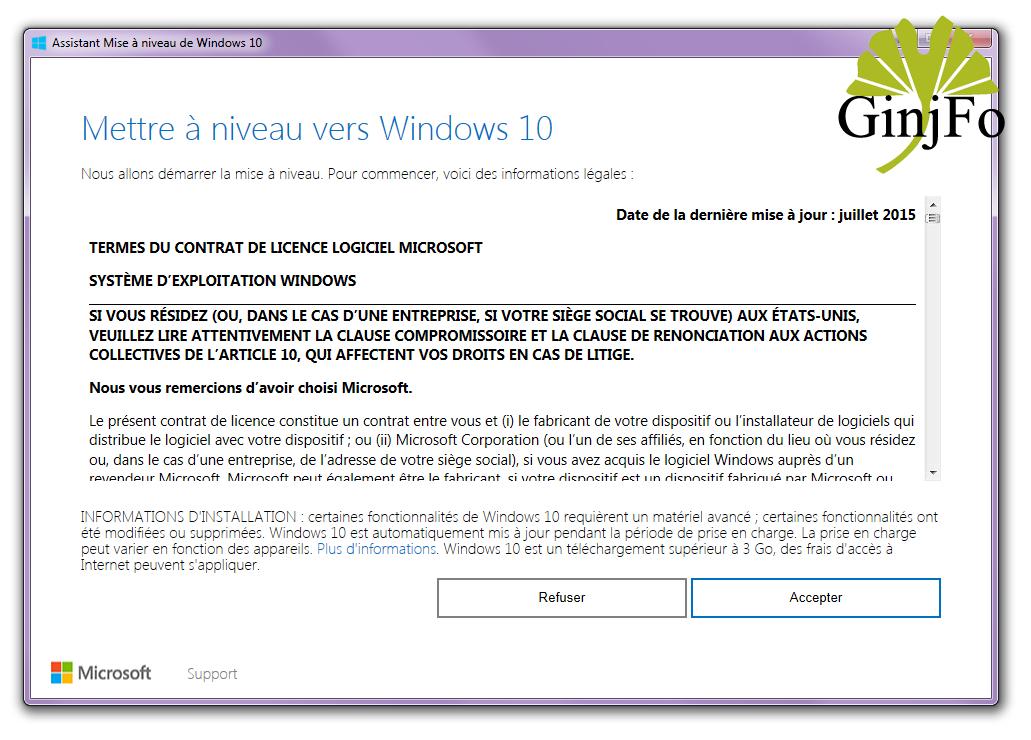 windows 10  comment mettre  u00e0 jour son pc avec la derni u00e8re