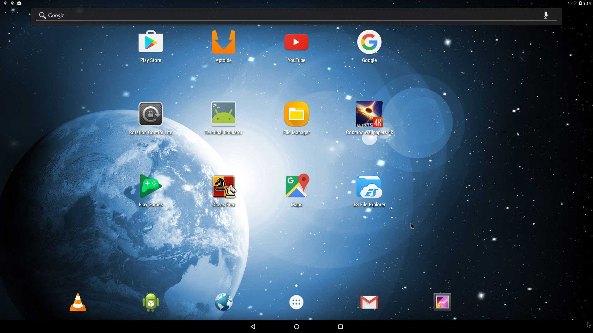 Systeme D Exploitation Android X86 64 Nougat 7 0 Ginjfo
