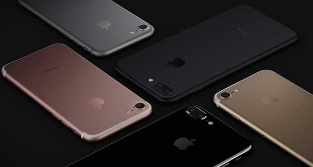 Smartphone iPhone 7 d'Apple
