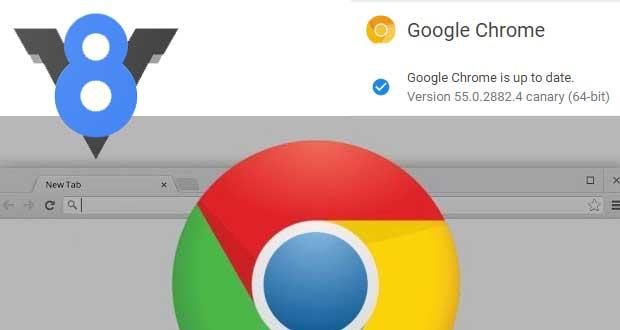 Chrome 55 - moteur JavaScipt V8