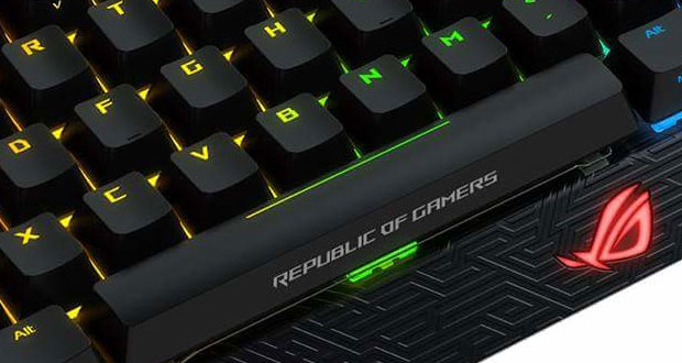 Clavier gaming Claymore d'Asus