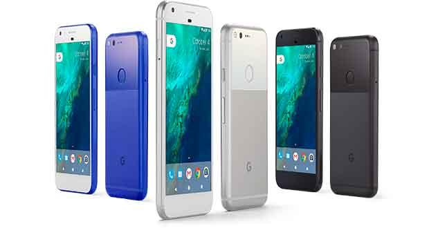 Smartphones Pixel et Pixel XL de Google