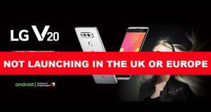 Smartphone LG V20 - Aucune commercialisation en Europe