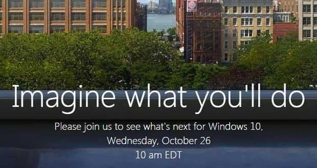 Conférence Microsoft du 26 octobre 2016.