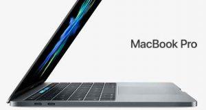Ordinateur portable MacBook Pro avec Touch Bar d'Apple