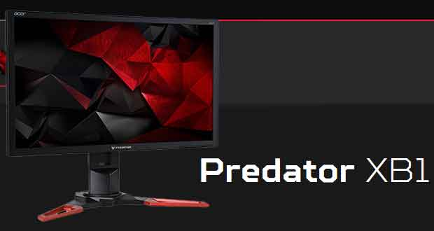 Moniteur gaming Acer Predator XB241YU