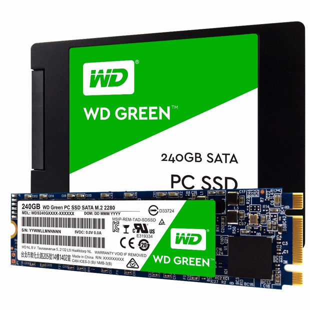 SSD WD Green de Western Digital