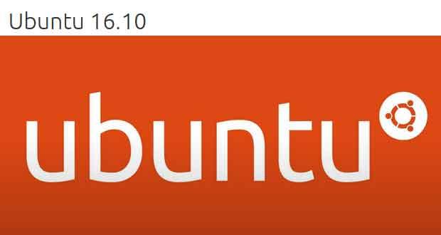 Distribution linux Ubuntu 16.10 Yakkety Yak