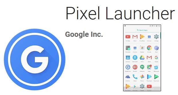 Pixel Launcher de Google