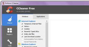 Application CCleaner v5.24.5841 de Piriform