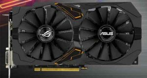 Carte graphique Asus Strix Gaming GeForce GTX 1050 Ti OC Edition