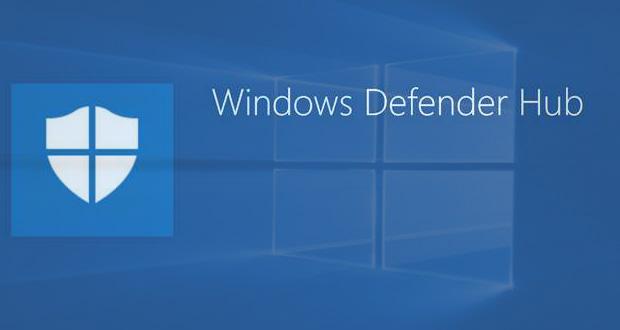 Windows Defender Hub de Microsoft