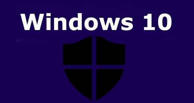 Windows 10 et la sécurité