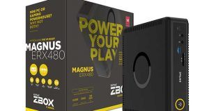 Mini-PC gaming MAGNUS ERX480 de Zotac