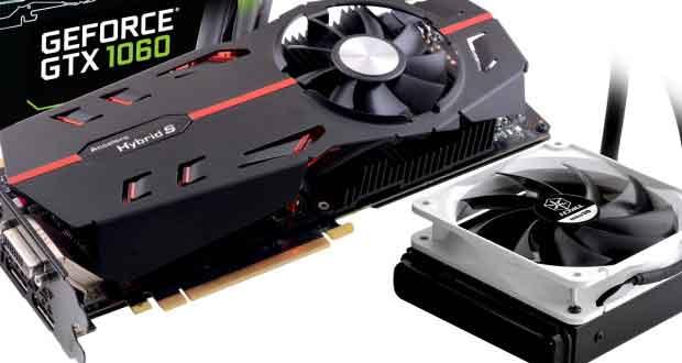 Carte graphique iChill Black series GeForce GTX 1060 d'Inno3D