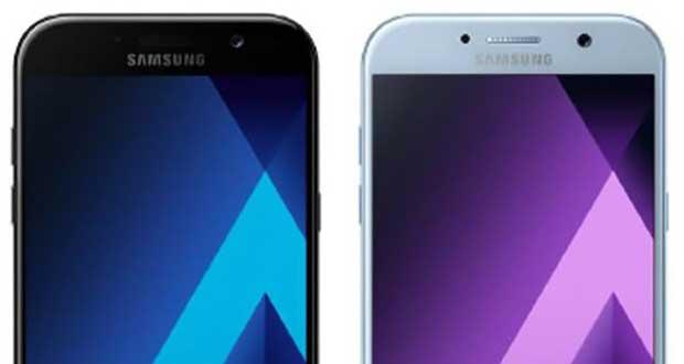 Smartphone Galaxy A5 (2017) de Samsung
