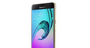Smartphone Samsung Galaxy A5 16 Go (version 2016) Or
