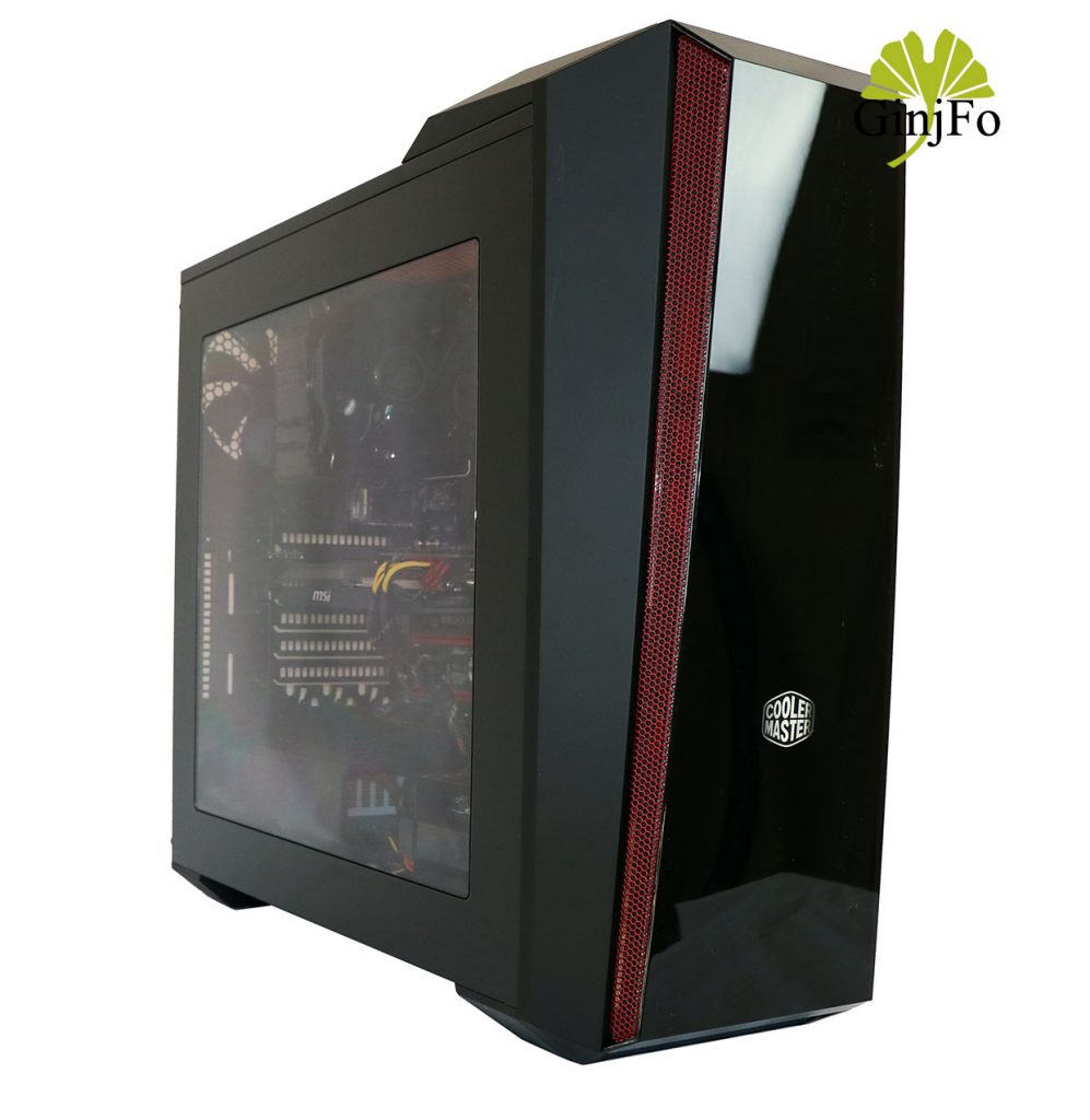 Boitier gaming MasterBox 5t de Cooler Master