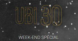 UBI 30 - Week End spécial - 7 jeux gratuits