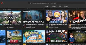 Youtube Gaming de Google