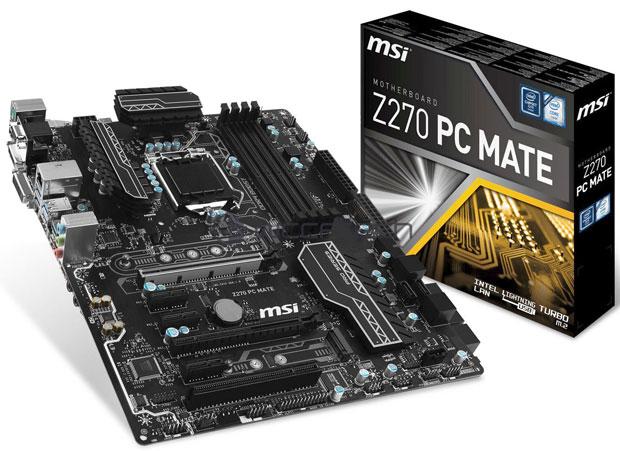 Carte mère MSI Z270 PC Mate