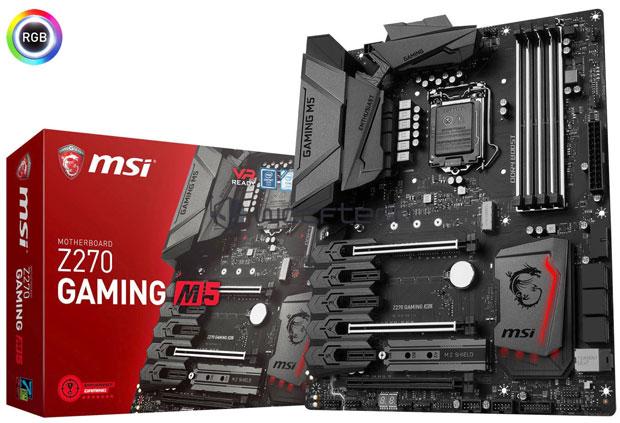 Carte mère MSI Z270 Gaming 5
