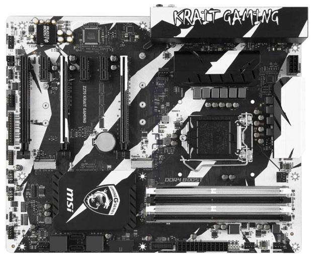 Carte mère MSI Z270 Krait Gaming