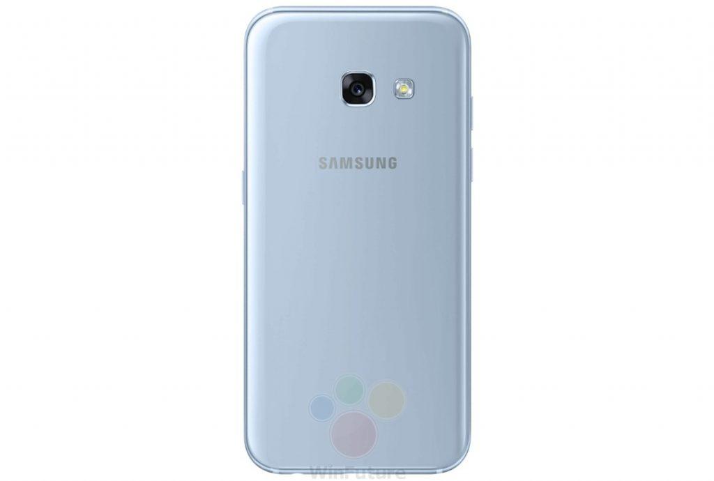 Smartphones Galaxy A3 (2017) et Galaxy A5 (2017) de Samsung