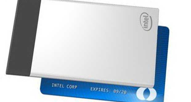 Ordinateur Compute Card d'Intel