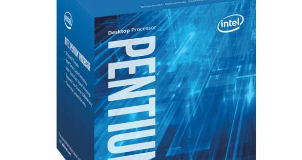 Processeur Intel Pentium Kaby Lake