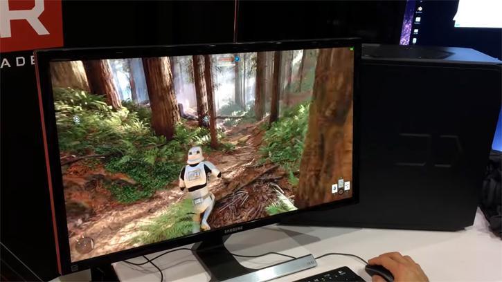 PC sous Ryzen et Vega - Star Wars Battlefront en 4K Full Option