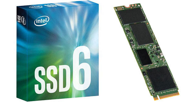 SSD Intel 600P series