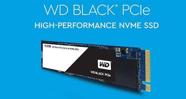SSD PCIe WD Black de Western Digital