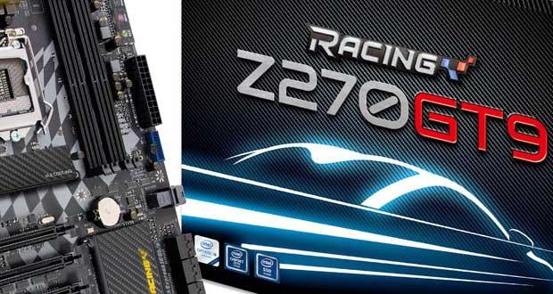 Carte mère Racing Z270GT9 5.x de Biostar
