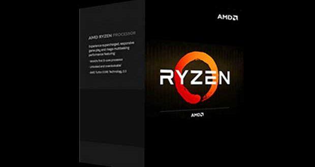 Processeur Ryzen d'AMD - les boites