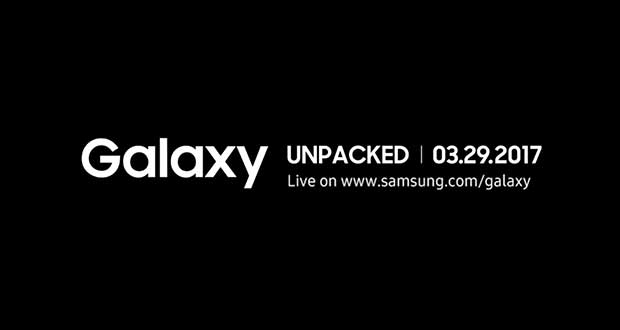 Conférence de presse Galaxy Unpacked de Samsung - le 29 mars 2017