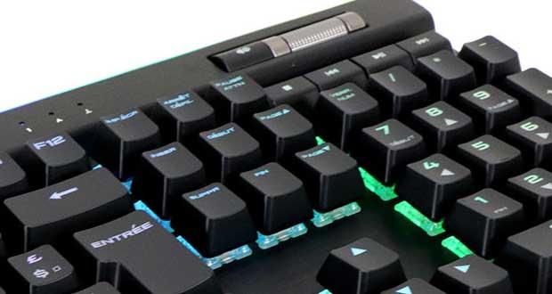Clavier gaming K95 RGB Platinum de Corsair