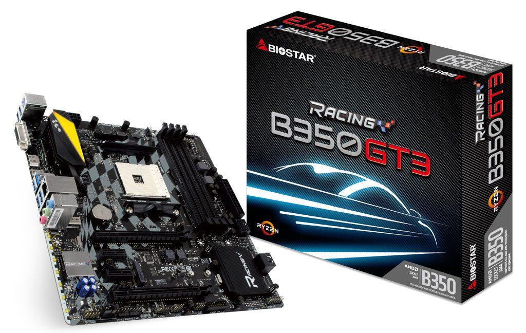 Carte mère Biostar Racing B350GT3