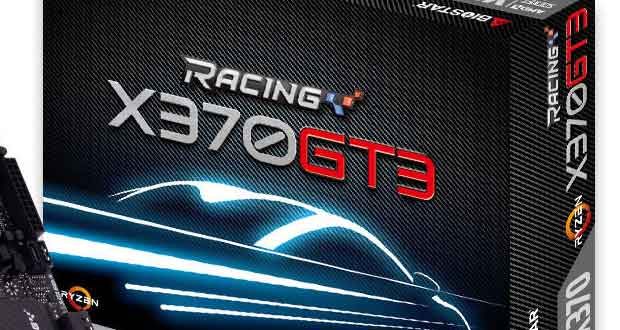Carte mère Biostar Racing X370GT3