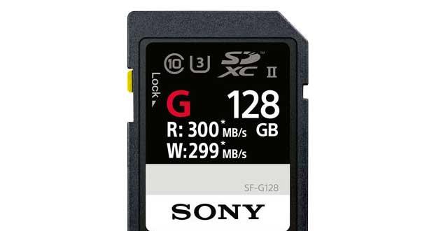 Carte SD SF-G de Sony