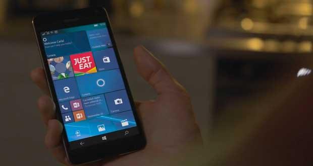 Système d'exploitation Windows 10 Mobile de Microsoft