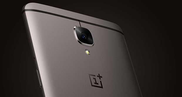 Smartphone OnePlus 3T Gunmetal 64 Go